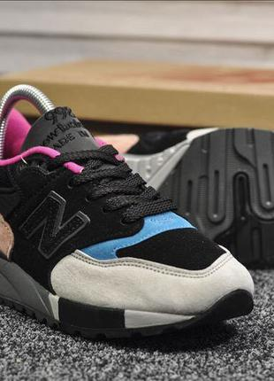 New Balance 998 Black Peach