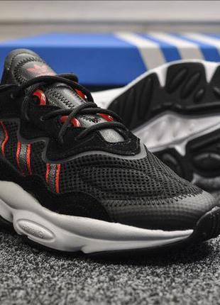 Adidas Ozweego Black Red White