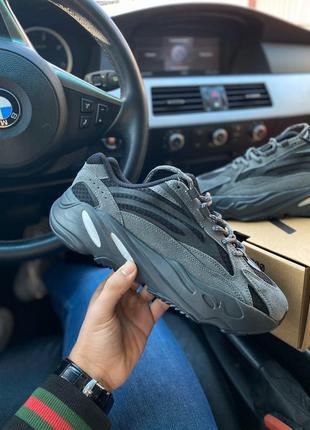 Распродажа!кроссовки adidas yeezy boost 700 v2 black