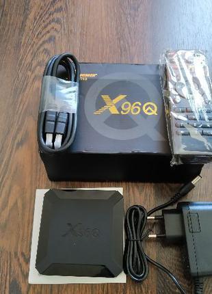 Смарт ТВ приставка X96Q 2/16 Андроид 10