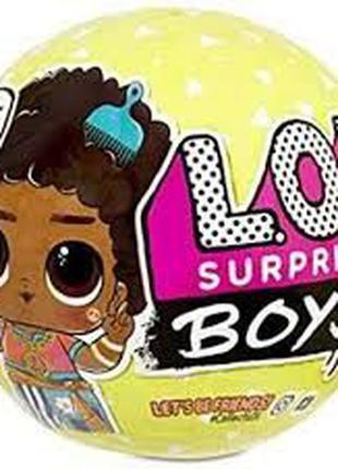 Игровой набор с куклой L. O. L. Surprise S3 - Мальчики лол 3 с...