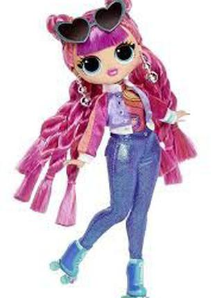 Кукла лол омг серия 3 Диско-скейтер lol omg Roller Chick 567196