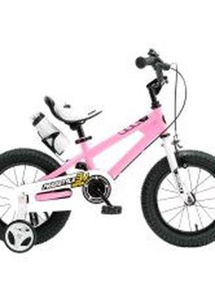 Детский велосипед Royal Baby Freestyle RB12B-6 Розовый