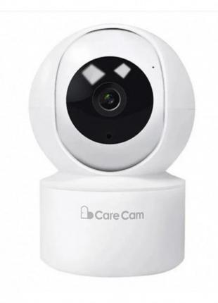 Беспроводная поворотная IP камера видеонаблюдения WiFi microSD Ca