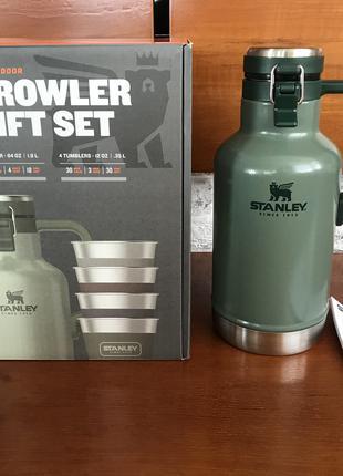 Термос-гроулер Stanley 1,9 литра. Growler Gift Set без стаканов!!