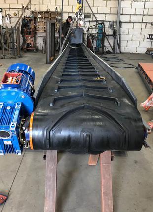 Стрічковий конвеєр, транспортер ЛТ-6-400. Конвейер ленточный