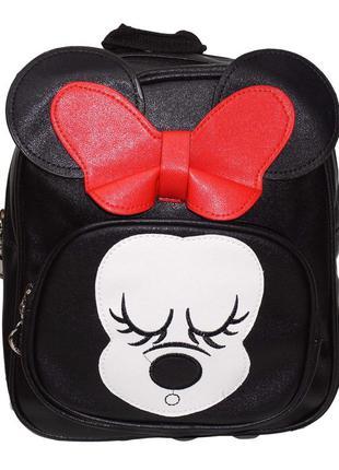 Рюкзак детский ,черный. микки.