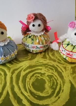 Куклы зерновушки, оберег на сытость ,богатство и удачу в доме