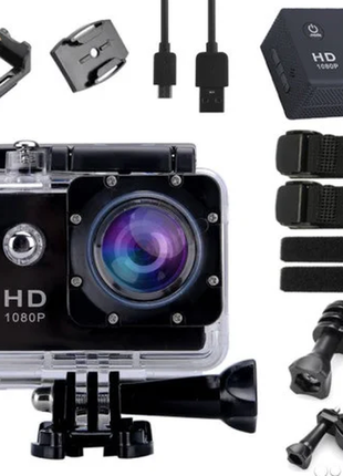 A7 HD - экшн камера аналог Go Pro / Видеорегистратор