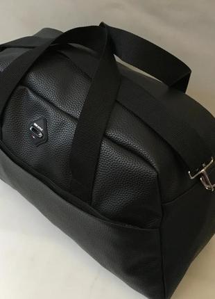 Спортивная дорожная сумка из экокожи,сумка  в дорогу, в спортз...
