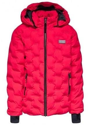 Зимняя утепленная куртка для девочки lego wear reima lenne col...