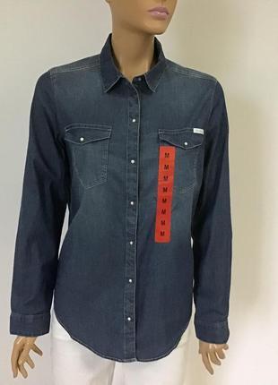 Жіноча джинсова сорочка calvin klein jeans