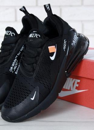 Модные кроссовки 💪 nike air max 270 black 💪