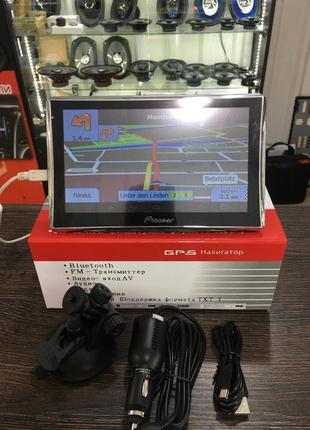 GPS Навигатор Pioneer A7001S+DVR