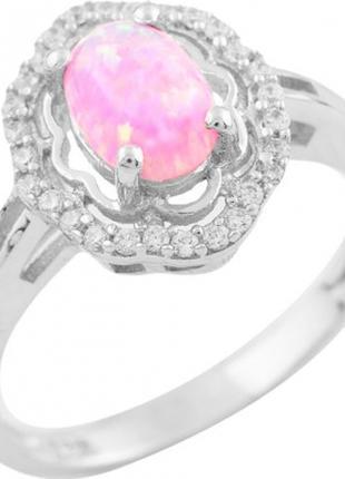 Серебряное кольцо SilverBreeze с опалом (1512333) 18 размер Тип: