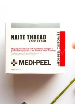 Антивозрастной крем для шеи и зоны декольте medi-peel naite th...