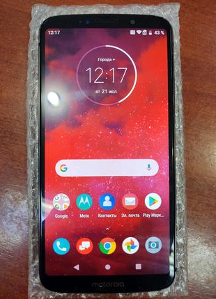 Смартфон Motorola Moto Z3 XT1929-17 (не плей) 4/64 Б/В