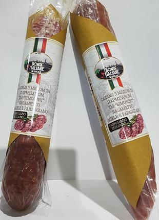 "Салямі з медом та пармізаном ТМ ""Simonini"" 200 г. шт. Італія"