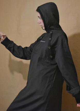 Закрытое платье макси, туника в пол, платье-плащ, исламский стиль