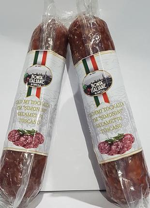 """Салямі Тоскана ТМ """"Simonini"""" 250 г, шт. Італія"""