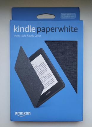Фирменный чехол для Amazon Kindle Paperwhite 10th fabric/black