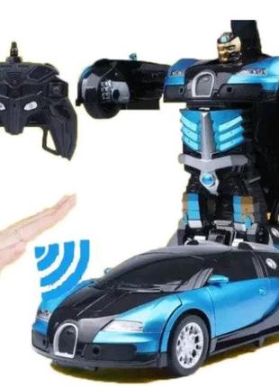 Машинка Робот Трансформер на радиоуправлении с пультом Автобот Bu