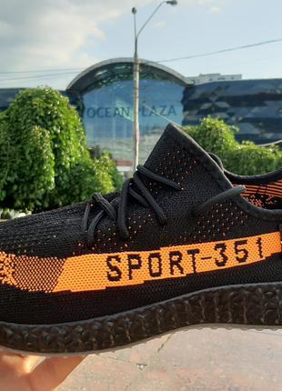 Летние мужские кроссовки дышащие сетка. Чёрные с надписью