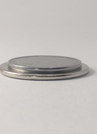 Магнит неодимовый, диск 30х2 мм