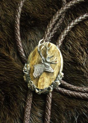 Bolo tie for hunter (Боло или галстук для охотника)