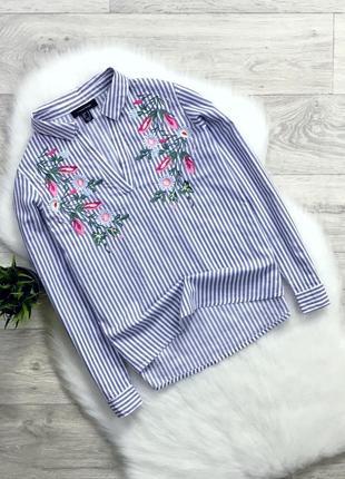 Рубашка/блуза с вышивкой