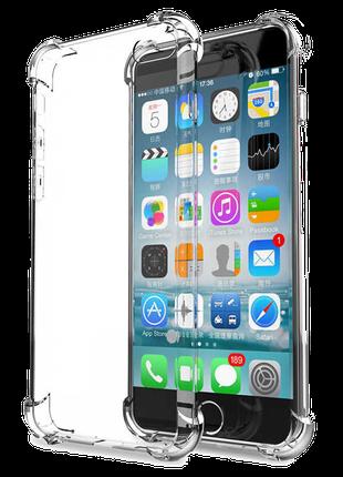 Противоударный Силиконовый Чехол SHOCKPROOF IPhone 6 6s Прозрачн
