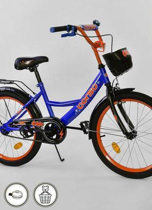 """Велосипед детский двухколесный 20 """" дюймов Corso"""