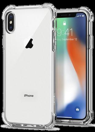 Противоударный Силиконовый Чехол SHOCKPROOF IPhone X XS прозрачны