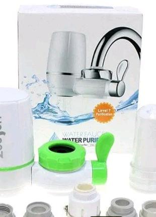 Фильтр насадка на кран для очистки проточной воды WATER PURIFIER