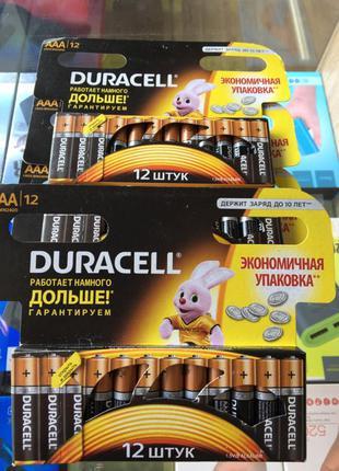 Батарейка DURACELL LR03 (ААА) MN2400 12 шт.