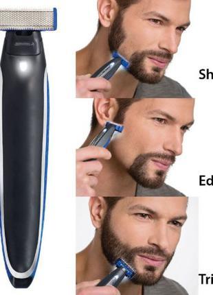 Триммер мужской универсальный MicroTouch Solo стрижка бороды
