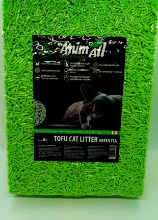 Наполнитель для кошачьего туалета Зелёный Чай