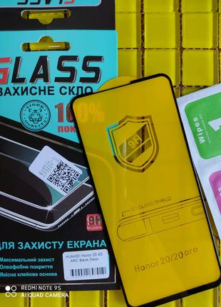 Защитное стекло скло Huawei honor 20 / 20 pro