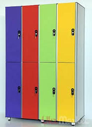 Шкафы для раздевалок (металлические)