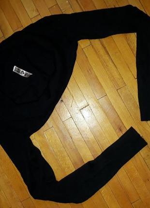 Болеро чорне светр, кофта, футболка zebra