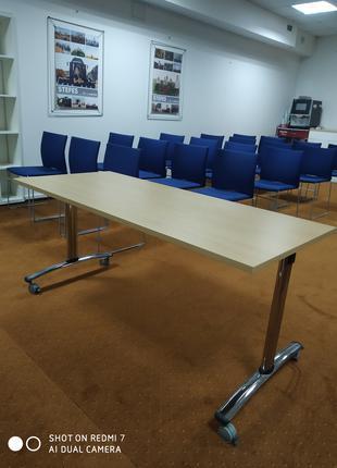 Столи трансформери для переговірних кімнат та конференц-залів