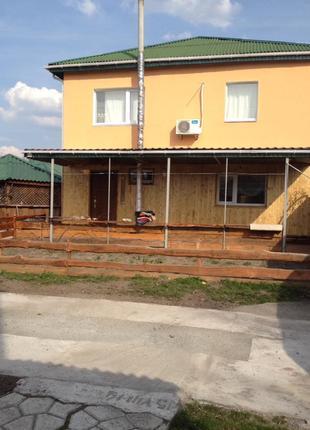 2 дома Кагарлык 220+48м2 в 40 мин Киева
