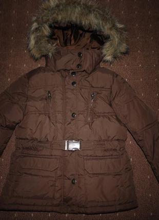 Деми куртка zara 4-5 лет