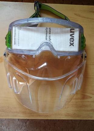 Маска щиток очки защитная от UVEX ULTRAVISION