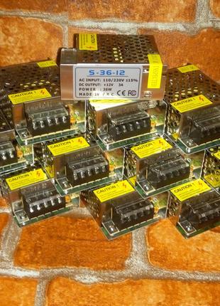 Импульсный блок питания Адаптер 12v DC 1203A 3A  90 грн