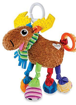 Развивающая игрушка для малышей лось мортимер