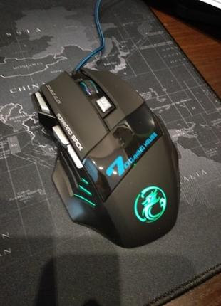 Профессиональная Проводная игровая Мышь 7 Кнопок оптическая USB