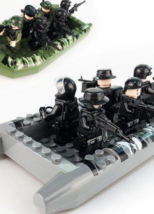 Лодка,катер лего lego (аналог)