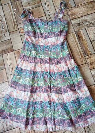 Гарне легке плаття-халат XS