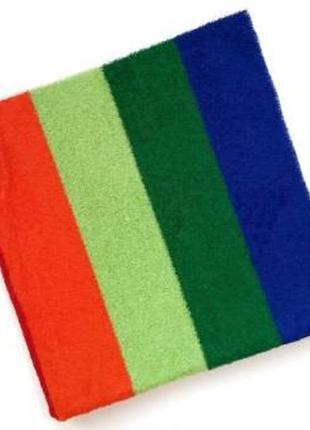 Махровое полотенце 100*50 радужка